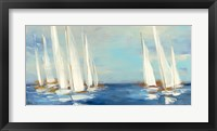 Framed Summer Regatta