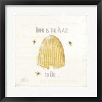 Bee and Bee II Framed Print