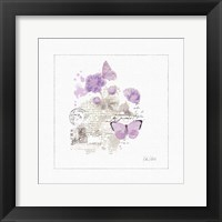 Framed Sunny Day II Purple
