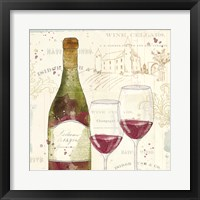 Framed Chateau Winery II