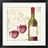 Framed Chateau Winery III
