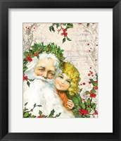 Framed Vintage Holiday III