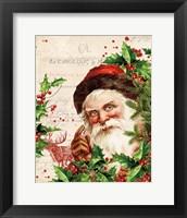 Vintage Holiday IV Framed Print