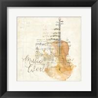 Framed Musical Gift I