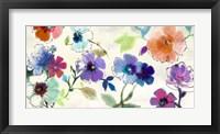 Framed Floral Fantasy