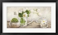 Framed Arrangement with Tulips