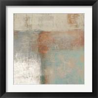Framed Velvet Desert I