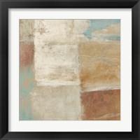 Framed Velvet Desert II