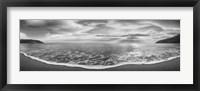 Framed Onda del Mattino (BW)