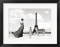 Framed Trocadero View (detail)