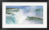 Framed Iguazu Falls, Brazil