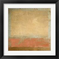 Framed Serene Horizon