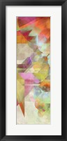 Framed Colorfall I