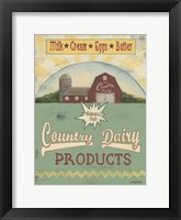 Framed Country Dairy
