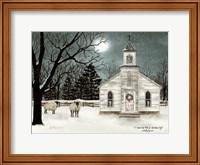 Framed I Heard the Bells on Christmas Day  - Darker Sky
