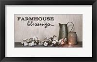 Framed Farmhouse Blessings