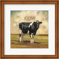 Framed Colby the Cow