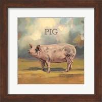 Framed Piper the Pig