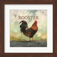 Framed Raleigh the Rooster