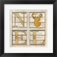 Framed Noel Deer