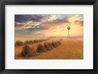 Framed Amish Country Sunrise