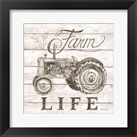 Farm Life Framed Print