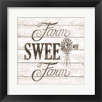 Farm Sweet Farm Framed Print