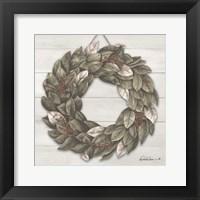 Framed Bay Leaf Wreath