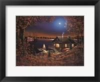 Framed Evening Serenity