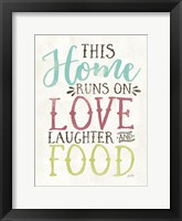 Framed Love, Food and Laughter