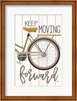 Framed Keep Moving Forward