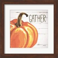 Framed Gather Pumpkin