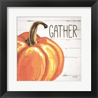 Framed Gather Pumpkin