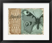 Framed Change Your Thoughts