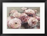 Framed Wild Roses Neutral