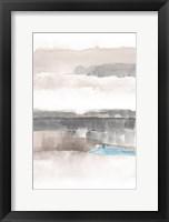 Framed Influence of Line and Color Neutral Aqua