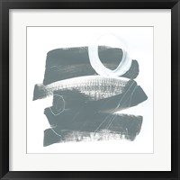 Framed Gray and White IX