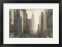 Framed Urban Movement I NY Neutral Crop