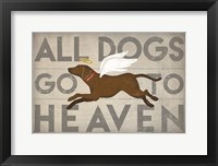 Framed All Dogs Go to Heaven II