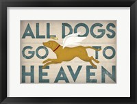 Framed All Dogs Go to Heaven III