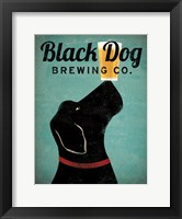 Framed Black Dog Brewing Co v2