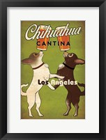 Framed Double Chihuahua Los Angeles