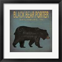 Framed Black Bear Porter