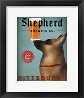 Framed Shepherd Brewing Co Pittsburgh