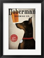 Framed Doberman Brewing Company