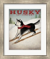 Framed Husky Ski Co