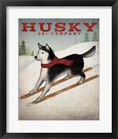 Framed Husky Ski Co