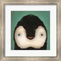 Framed Baby Penguin