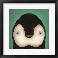 Framed Baby Penguin