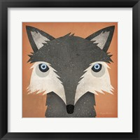Framed Timber Wolf